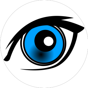 Cartoon Eye icon png