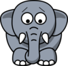 Cartoon Elephant icon png