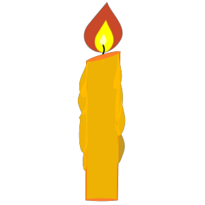Blue Candle icon png