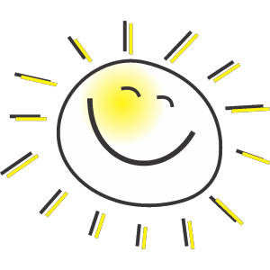 Cartoon Sun icon png