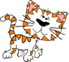 Kittens One With Blue Ribbon icon png