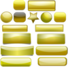 Golden Buttons icon png