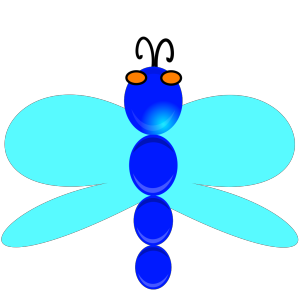 Dragon Fly With Eyes icon png