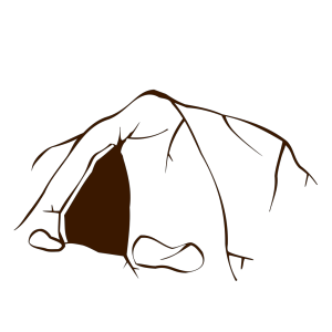 Dark Brown Cave icon png