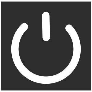 Simple Power icon png