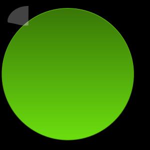 Boton Verde Claro icon png