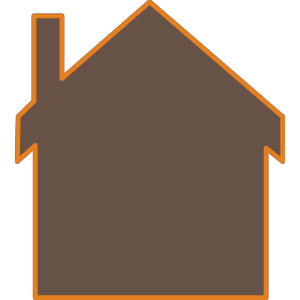 Brown House PNG, SVG Clip art for Web - Download Clip Art ... (300 x 300 Pixel)