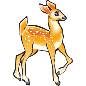 Posing Fawn icon png
