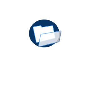 Light Blue File icon png