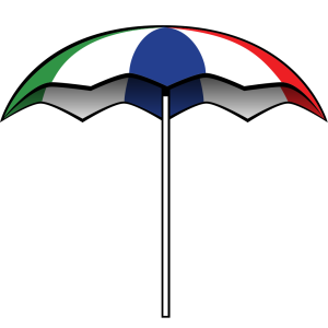 Blue Umbrella icon png