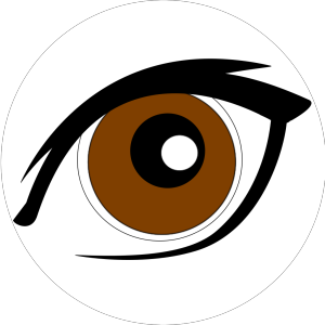 Cartoon Eye New icon png