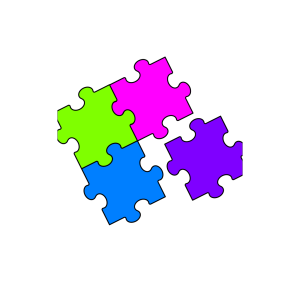 Puzzle Blue2 icon png