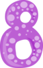 Number 8 icon png