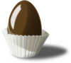 Chocolate Easter Egg icon png