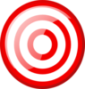 Hexagon Target icon png
