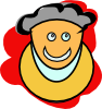Smiling Man icon png