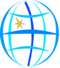 Blue Globe icon png