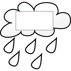 Heart Raindrops icon png
