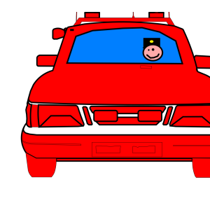 Police Car icon png