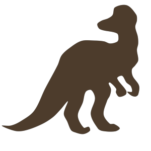 Brown Cory Dino icon png