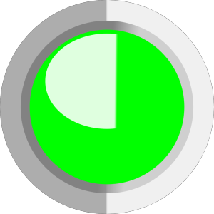 Green Circle Button icon png