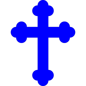 Blue Cross icon png