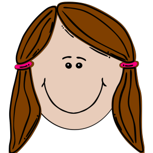Brunette Teenager icon png
