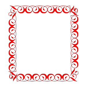 Rose Border icon png