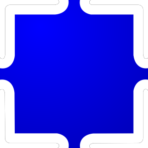 Blue Jigsaw icon png