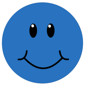 Blue Smile design