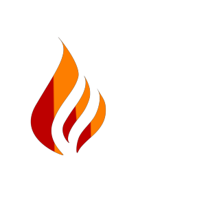 Blue Flame Logo icon png