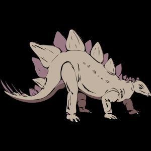 Gray Stegosaurus icon png