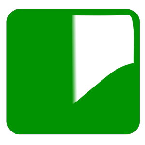 Green Glossy Button icon png