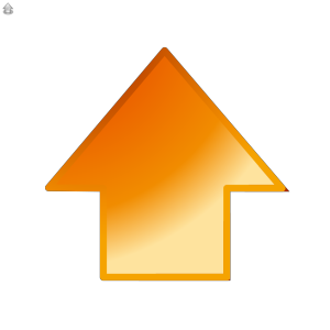 Up Glossy Arrow icon png