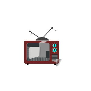 Tv Brown Clipart icon png