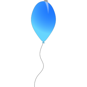 Blue Balloon icon png
