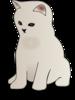 Sitting Kitten icon png