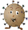 Brown Germ icon png