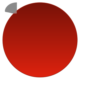 Red Delete Button icon png