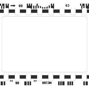 Navy Blue Film Strip icon png