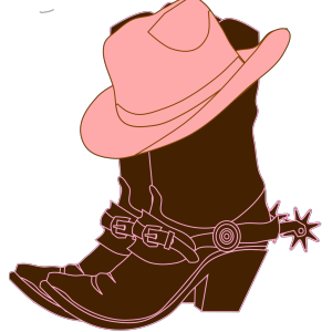 Lighter Brown Cowgirl Boots icon png