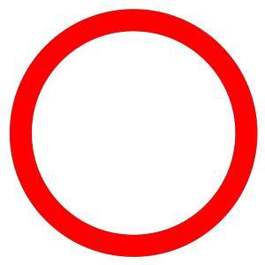 Red Circle icon png