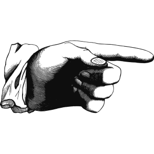Pointing Finger icon png