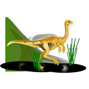 Gallimimus design