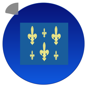 French Navy Flag icon png