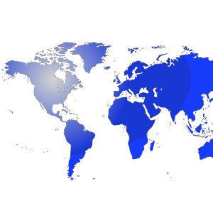 3D Globe Blue icon png
