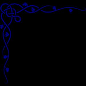 Royal Blue Celtic Corner icon png