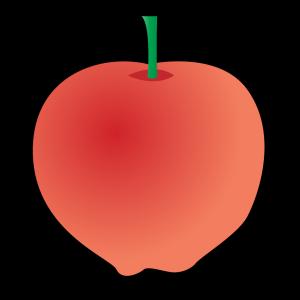 Cartoon Apple icon png