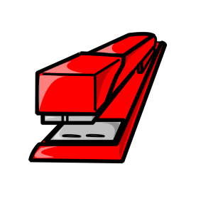 Blue Stapler icon png