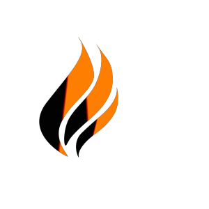 Gas Flame Logo design